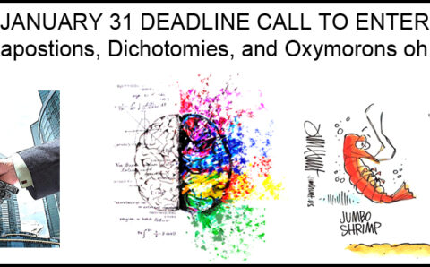 Call For Entry – Juxtapositions, Dichotomies and Oxymorons oh my!