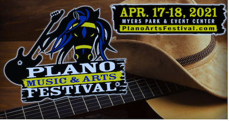 Plano Music & Arts Festival Spring 2021 call for artists